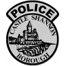 Castle Shannon Police Department Badge