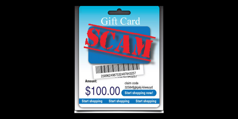 Image for Phone Scams Involving Gift Cards