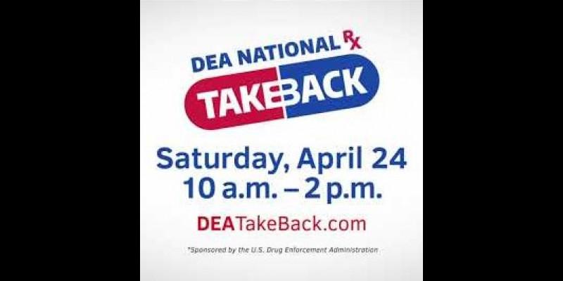 Image for DEA NATIONAL PRESCRIPTION DRUG TAKE BACK