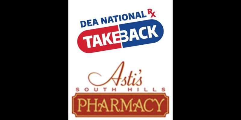 Image for Drug Take Back - October 23, 2021 - CSPD & Asti Pharmacy