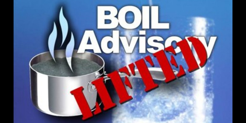 Image for Boil Water Advisory LIFTED