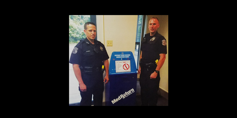 Image for Medication Disposal at the Borough Building